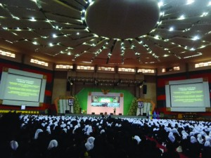 penyampaian materi NAPSA oleh ketua BNN kota Malang