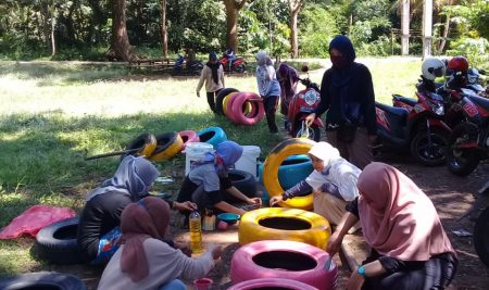 KKN Pulkam: Sulap Bumi Perkemahan Jadi Wisata Alternatif Desa
