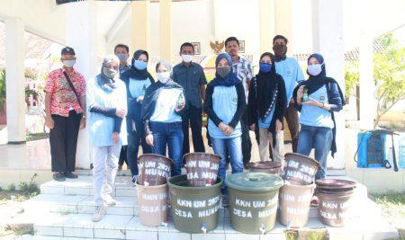 Mahasiswa KKN UM Sukseskan Program Kampung Tangguh