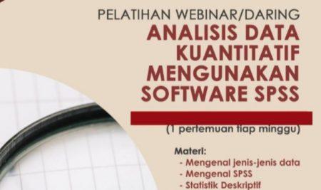 Pelatihan Analisis Data Kuantitatif Menggunakan Software SPSS