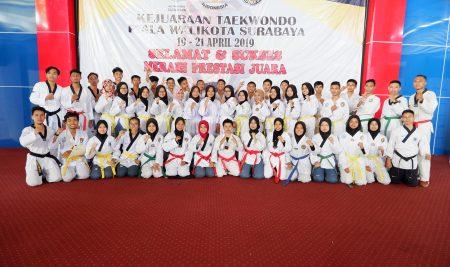 Berbagai Kejutan Warnai Hari Jadi Taekwondo