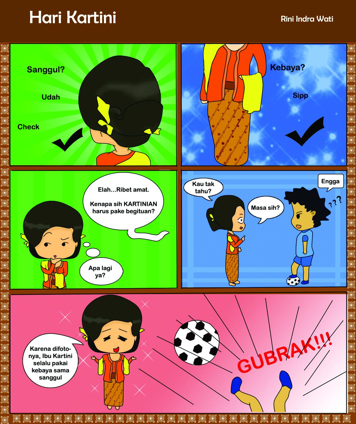 Hari Kartini - Rini Indra Wati