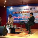 Meriahkan Seminar Wayang di UM, Sujiwo Tejo: Hidup Seperti Pagelaran Wayang