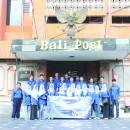 Kunjungan Jurnalistik Kru Komunikasi: Belajar Kearifan Lokal Pers Pulau Seribu Dewa